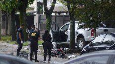 Juez Zuviría y Navarro, el escenario del doble homicidio de dos ladrones en motos a manos de una víctima del robo.