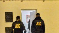 Uno de los procedimientos realizados por agentes de la AIC.