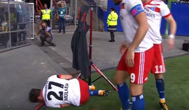 Se lesionó en el festejo de su gol y se quedará siete meses sin jugar