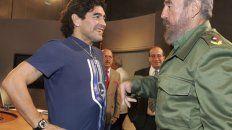 Diego y Fidel se conocieron en 1987 en una visita oficial y se vieron por última vez en 2013.
