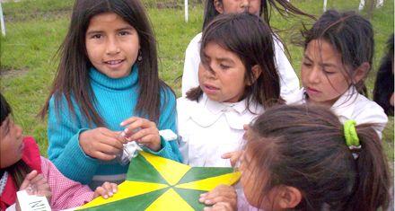 Charla y presentación de un libro sobre educación aborigen