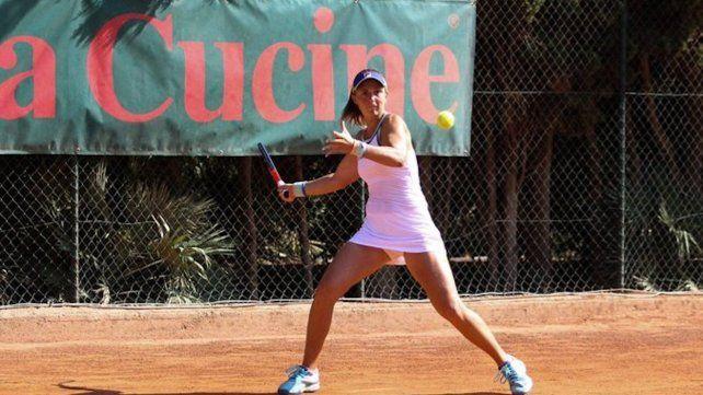 Va por más. Nadia Podoroska tuvo el mejor año de su carrera en 2020 y buscará consolidarse entre las mejores del mundo.