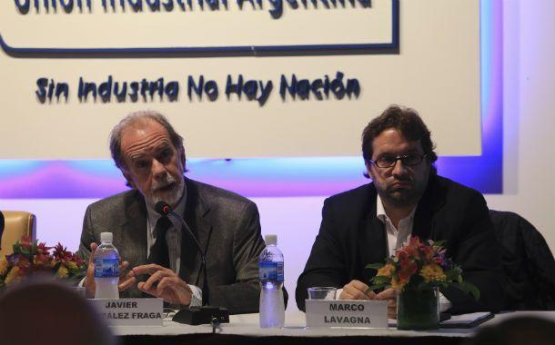 Referentes. González Fraga (UCR) y Marco Lavagna (Frente Renovador).
