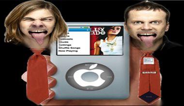 Elegancia y tecnología: diseñan una corbata para llevar el iPod