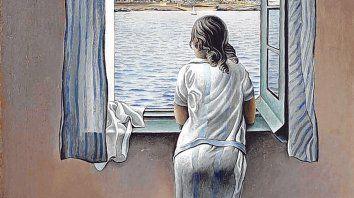 Figura en una ventana, de Salvador Dalí (1904-1989).