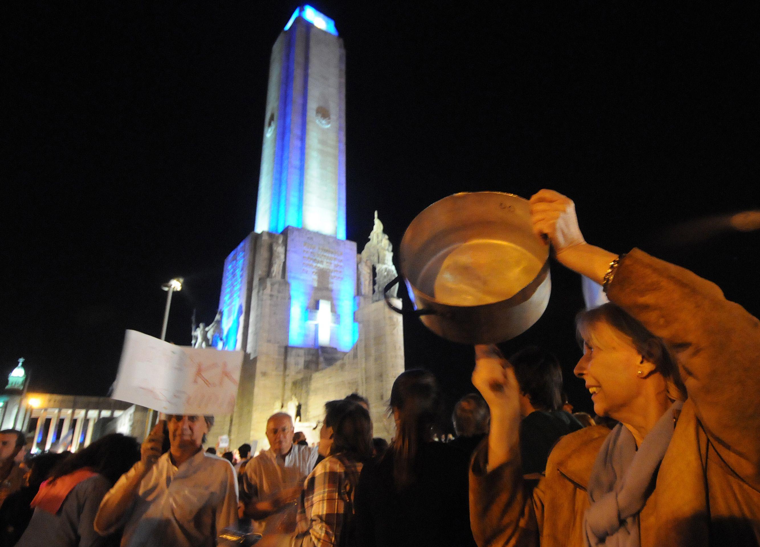 El Monumento será en Rosario el epicentro de la protesta.
