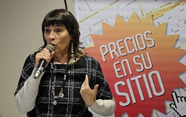 Promoción. La subsecretaria de Defensa del Consumidor presentó hace dos semanas la tarjeta en Rosario.