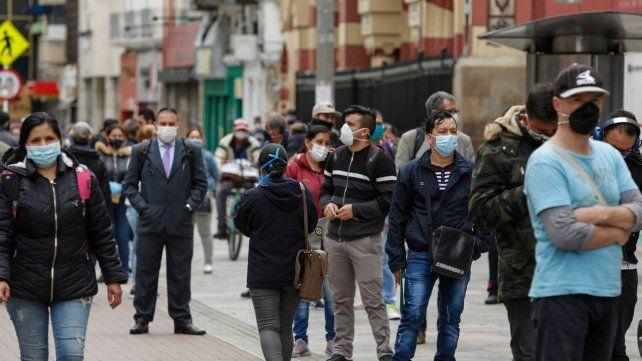 Colombia registra el mayor incremento de casos de Covid en Sudamérica