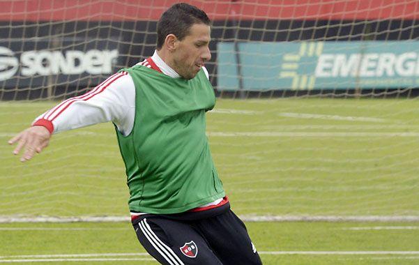 Adentro. Maxi fue suplente ante Defensa y Justicia; ahora volverá a la titularidad para el derby.