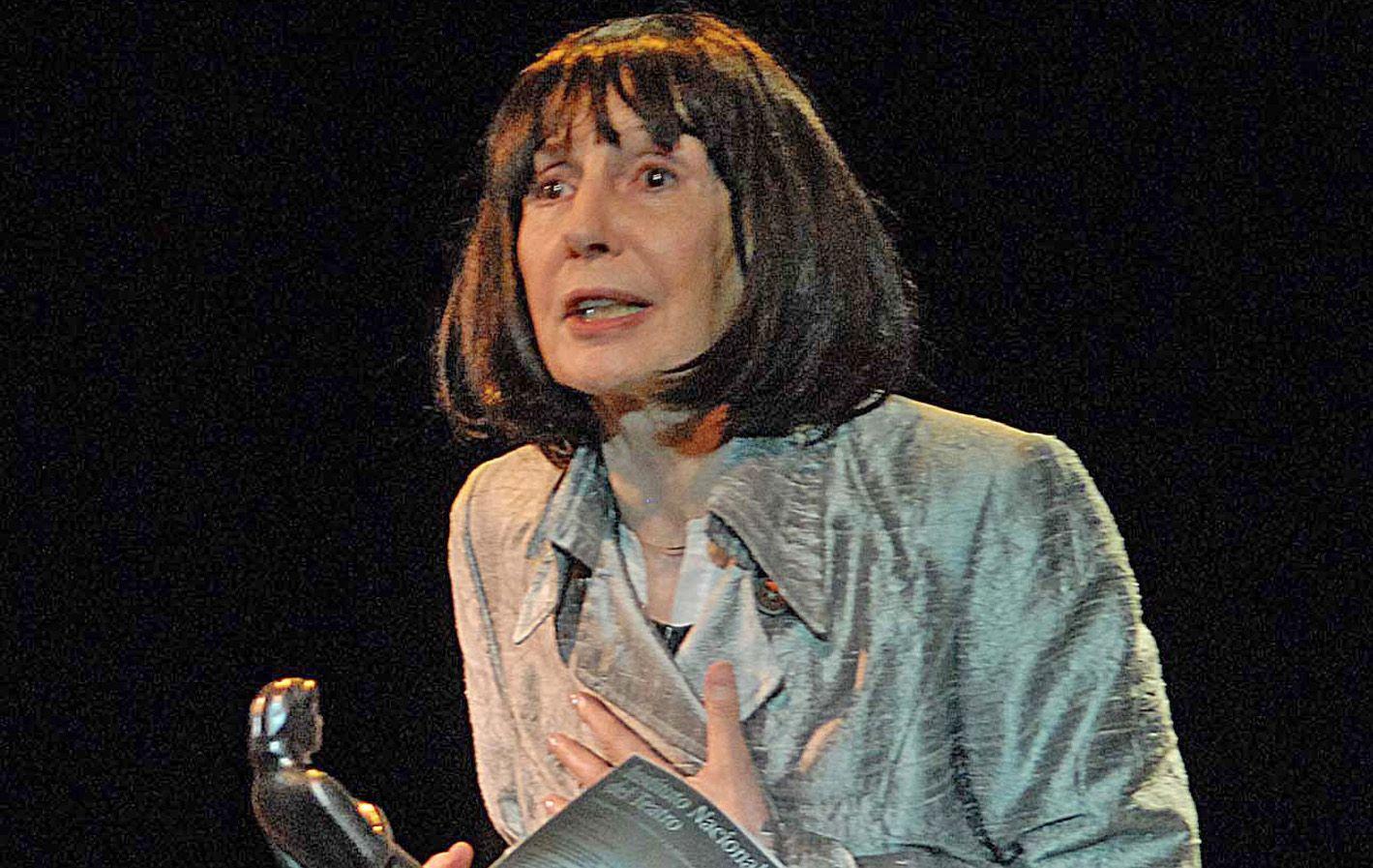 Elena Tasisto recibió un Konex de Platino en 2011 por su labor en teatro.