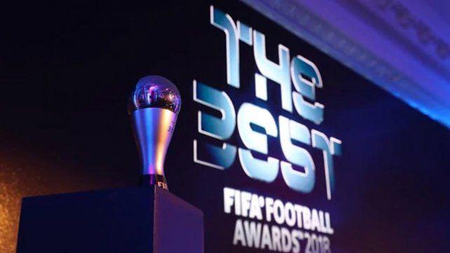 Messi llegó a Milán por los premios The Best