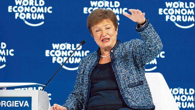 """Georgieva admitió que """"Argentina tuvo relaciones turbulentas con el FMI durante mucho tiempo""""."""