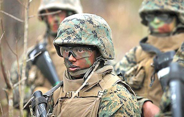 Jerarquizadas. El proyecto contempla un pase gradual de las mujeres a cargos de primera línea del ejército.