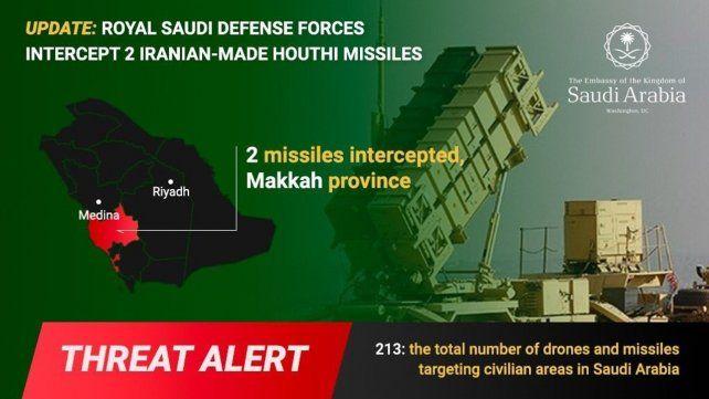 Arabia sufre otro ataque desde Yemen