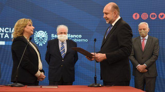El derecho a la salud no es valor de mercado, dijo Martorano en su asunción como ministra