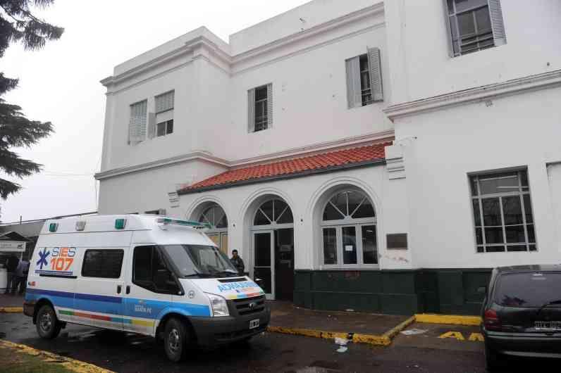 Un nuevo hecho de violencia se registró en el hospital del sur rosarino. (Foto: C.M.Lovera)