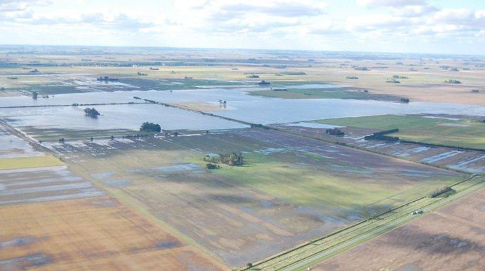 Desastres. El desborde del Candelaria y las precipitaciones traen cada vez más problemas a la zona de Casilda.