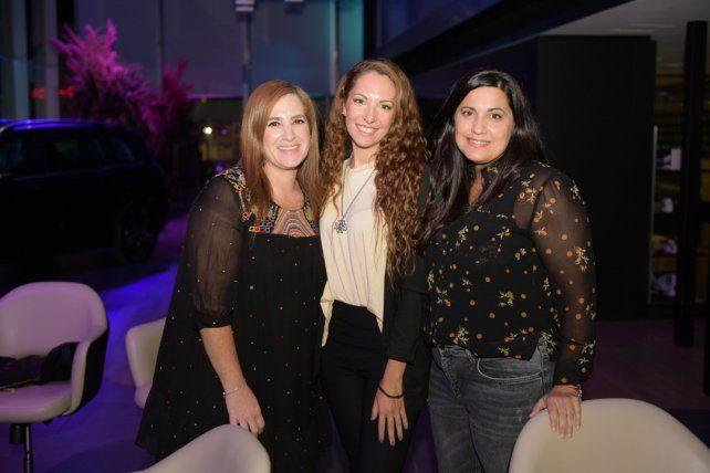 María José Abdelmalek, Leila y Paloma Gimenez