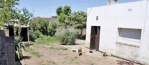 La casa de los captores en la localidad bonaerense de Coronel Suárez
