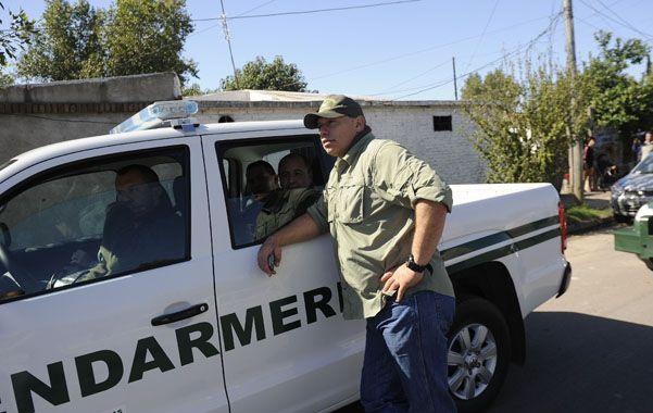 Al frente. Sergio Berni monitorea permanentemente el despliegue de fuerzas federales en la ciudad.