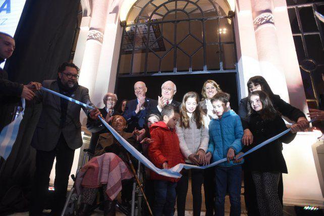 Rosario tuvo su fiesta en la reinauguración de la Biblioteca Argentina