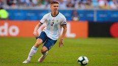 Respaldo. En unos días empieza la Copa América y este año me toca acompañar y apoyar desde afuera como un argentino más, publicó Foyth.