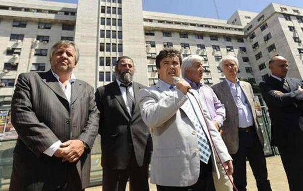 Los fiscales de los Tribunales de Comodoro Py al anunciar la marcha por su fallecido colega Nisman.