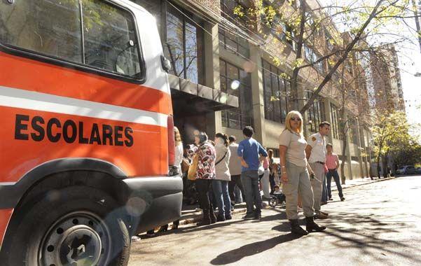 El debut. El programa de ordenamiento de tránsito arrancó el 23 de abril. (foto: Francisco Guillén)