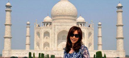 Cristina agradeció a empresarios indios por interesarse e invertir en la Argentina