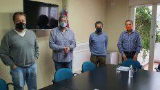 Del Frade, Rubeo, Moreno y Giustiniani hablaron sobre Vicentin. Los restantes legisladores de la comisión lo hicieron por videoconferencia.