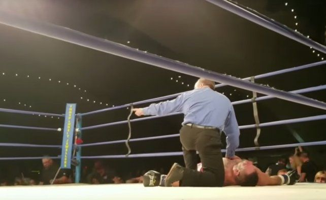 Un boxeador fue declarado con muerte cerebral tras un tremendo nocaut