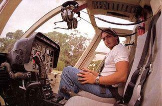 El hijo del ex presidente falleció cuando piloteaba un helicóptero junto a Silvio Oltra en 1995.