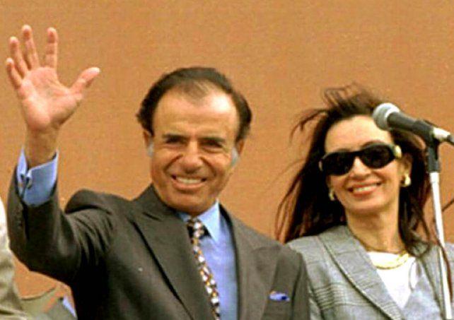 Cristina Kirchner expresó sus condolencias por la muerte de Menem