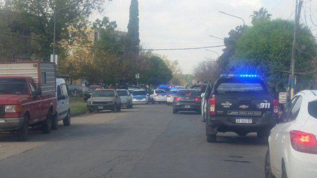 Casiano Casas y Superí. Los incidentes frente a la comisaría 30ª ocurrieron la mañana del domingo 14 de mayo.