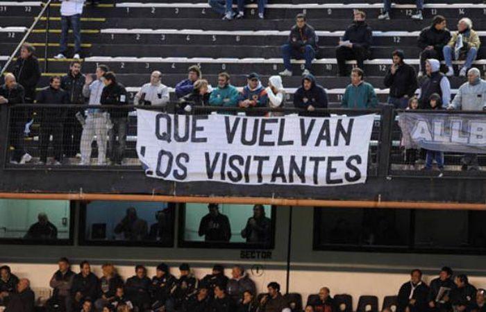 La AFA confirmó el regreso del público visitante en tres partidos de la próxima fecha