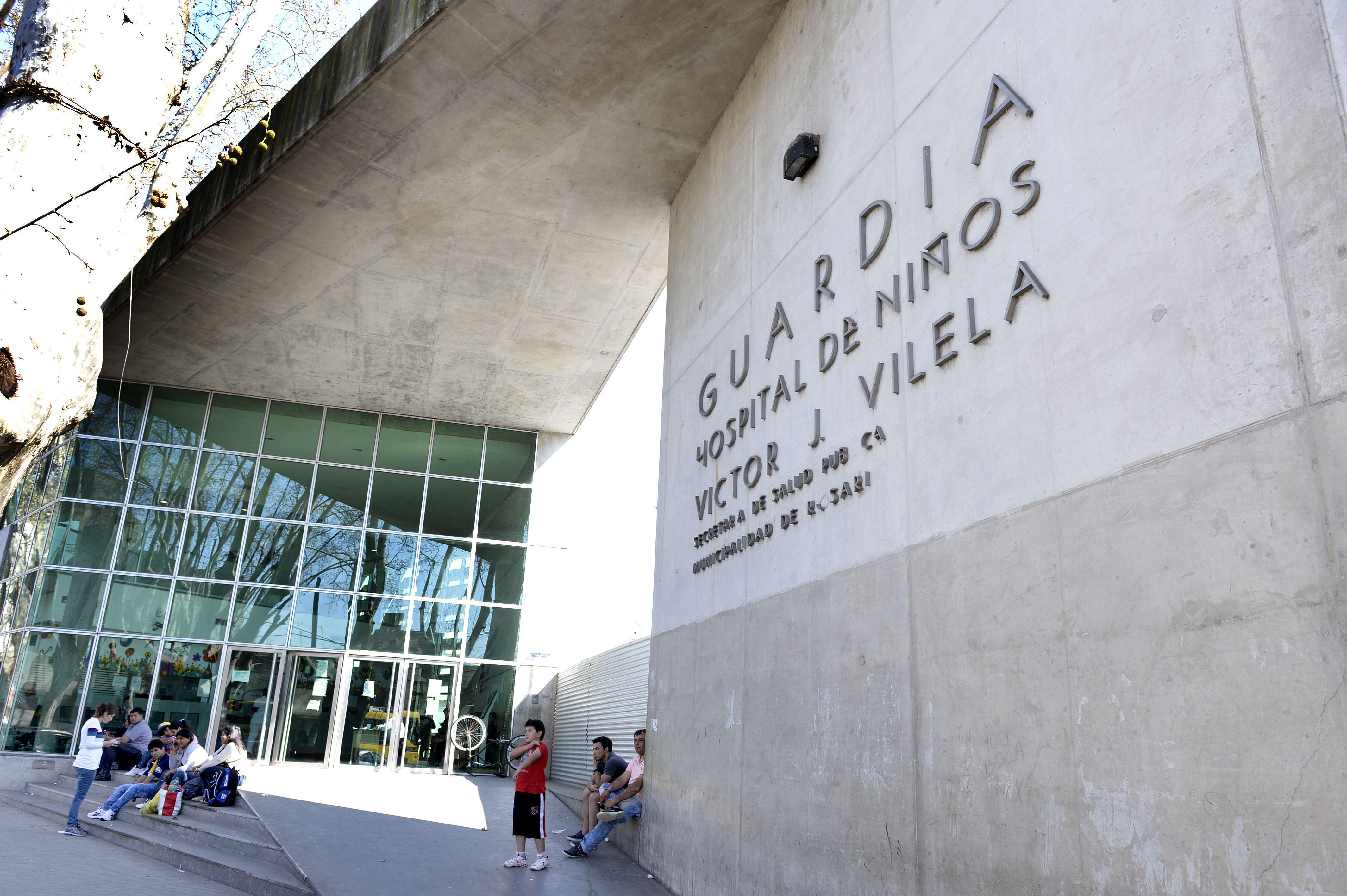 Agustín se recupera de la herida en el Hospital Vilela.