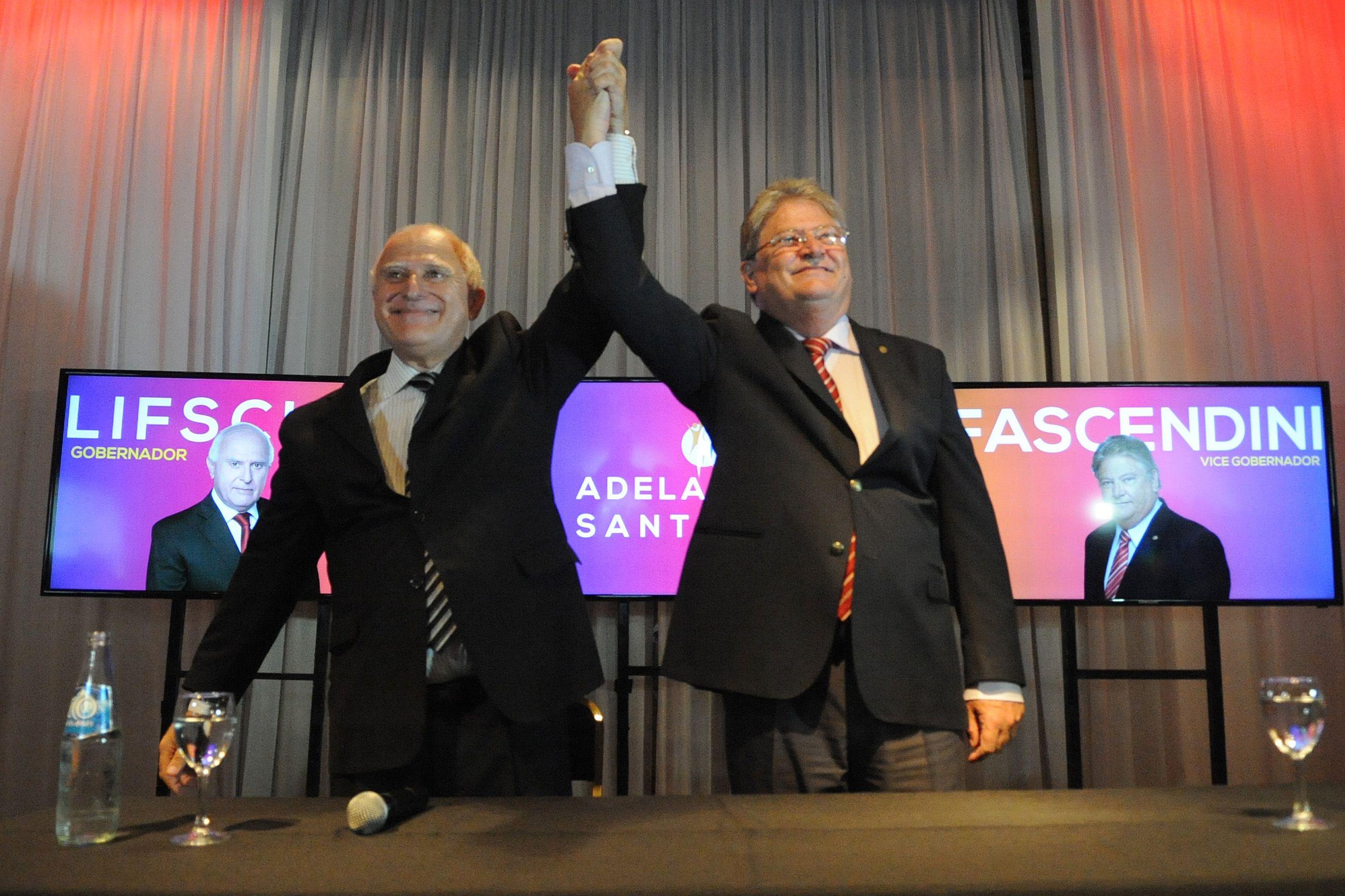 El senador provincial socialista Miguel Lifschitz lanzó su precandidatura a gobernador de Santa Fe hoy en Rosario.