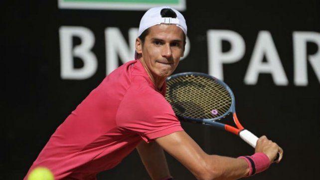 Coria logró el primer triunfo argentino en Roland Garros 2020.