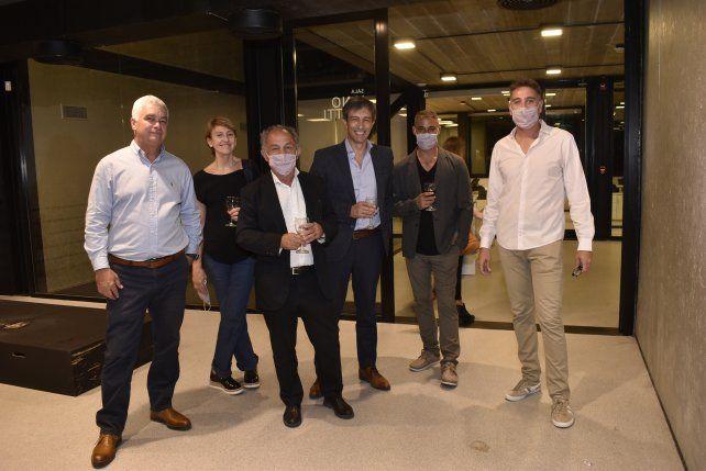 Germán Picarelli, Liliana Agnellini, Rubén Fernandez, Andrés Haugh, Mariano Costa, Fabián Wyrsch.