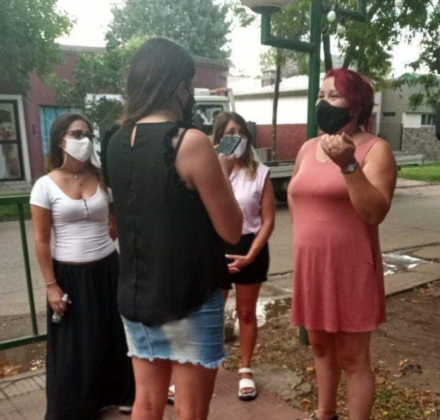 El trabajo comenzó en plena pandemia y avanzó entre las mujeres de diferentes entidades