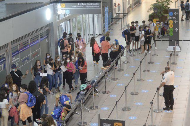 El Aeropuerto Rosario hace un mes