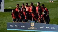 El equipo del debut del Negro Gamboa, que cerró mal el primer tiempo y en el complemento lo dio vuelta con los cambios