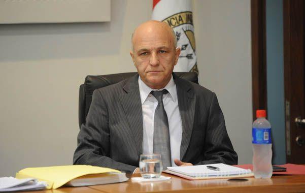 Señor juez. José Luis Mascali dictó la condena a 14 años de cárcel.