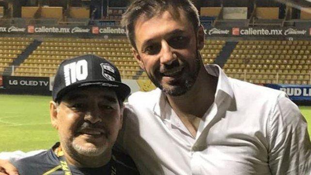 Matías Morla contó el trasfondo del saludo de Maradona a Dalma