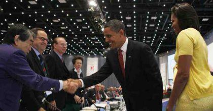 Obama causa furor en Dinamarca y hasta el jurado del Comité Olímpico le pide fotos