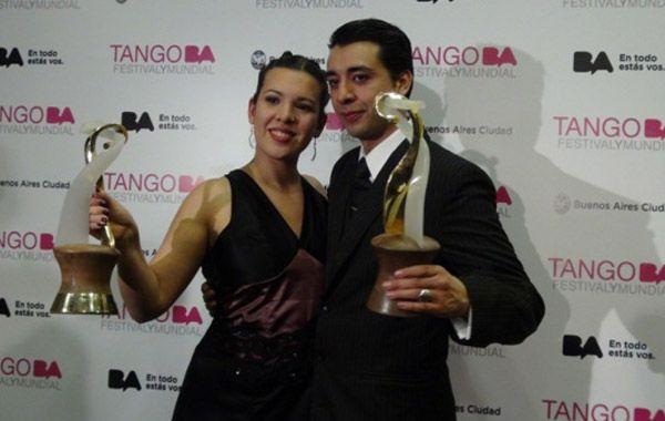 Una pareja argentina se consagró campeona en el Mundial de Tango