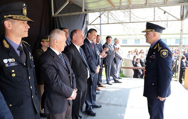 El gobierno puso en funciones a la nueva cúpula de la Policía provincial