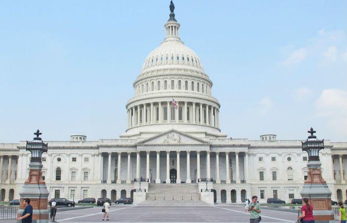 Debieron cerrar el Capitolio tras el tiroteo que se produjo esta tarde en las inmediaciones.