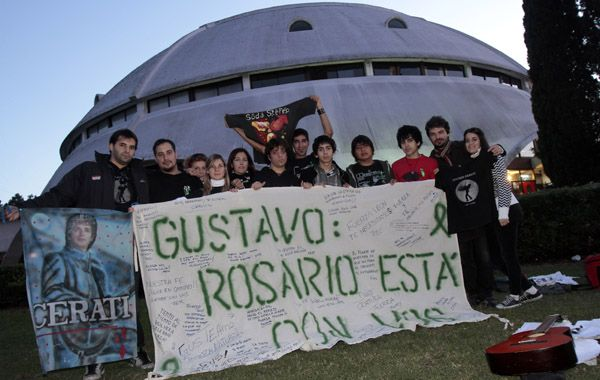 En mayo del año pasado los fanáticos de Gustavo también se convocaron en el Planetario.