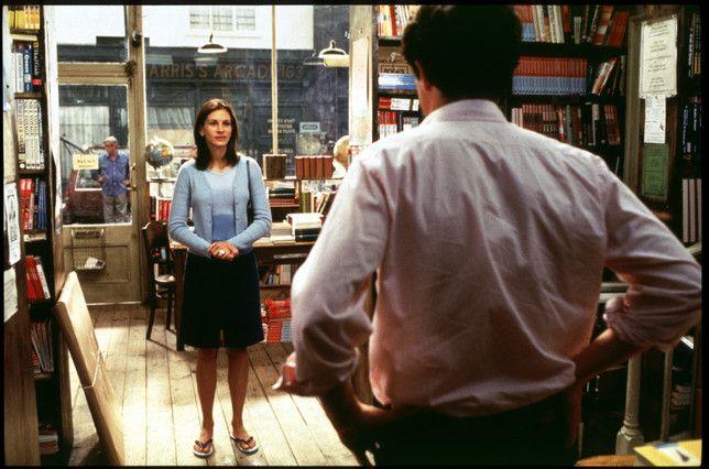 Notthing Hill y la escena en la librería